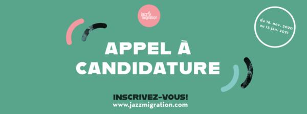 Jazz Migration [Appel à candidature]