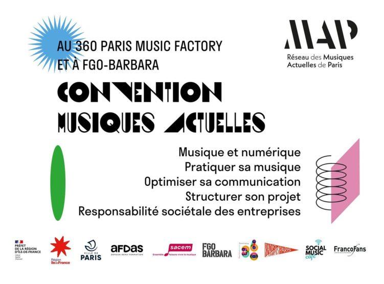 Jirafe des musiques actuelles : ateliers et tables rondes à destination des pros des musiques actuelles