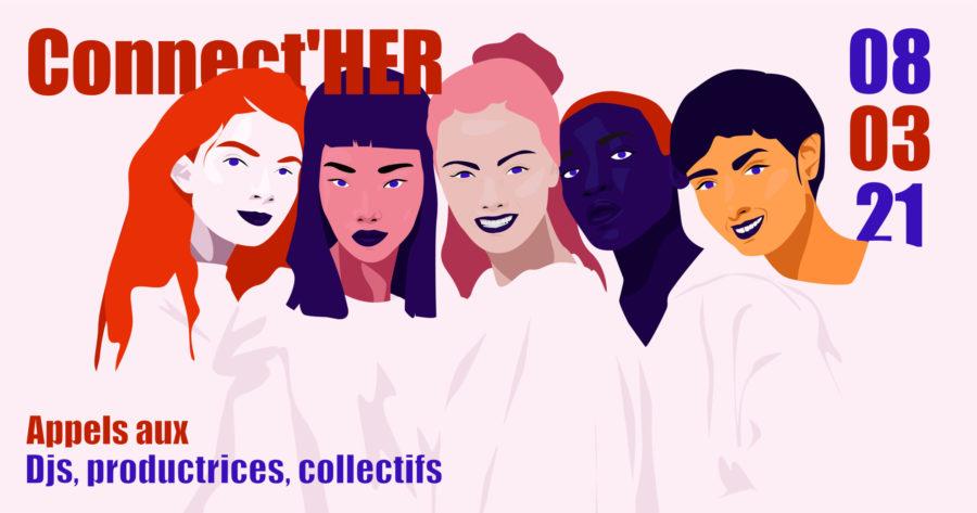 Connect'Her : appel aux femmes DJ et productrices de musiques électroniques